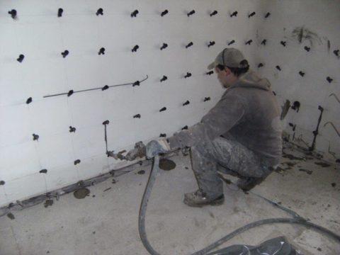 Feuchte Keller, Mauerwerkstrocknung