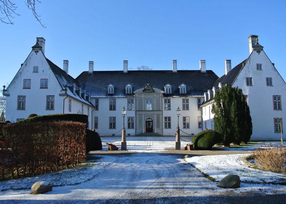 Schloss Schackenborg in Dänemark