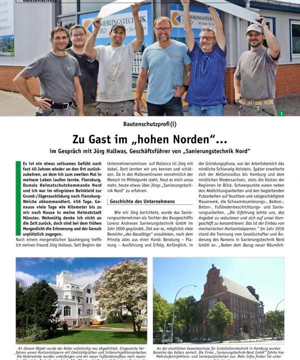 """Zeitschrift """"Schützen & Erhalten"""""""